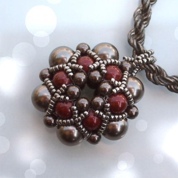 beading tutorial dorothy pendant beaded bead beading