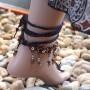 foot jewelry beading pattern