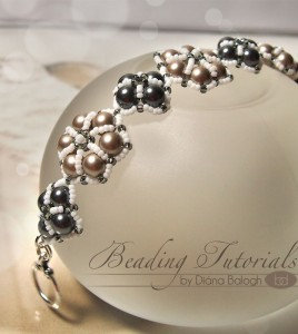 Easy to make beaded bracelet tutorial