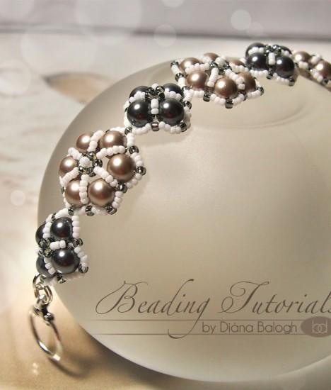 Easy to make beaded bracelet tutorial
