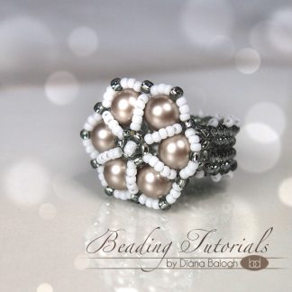 Sibyl ring beading tutorial for beginners