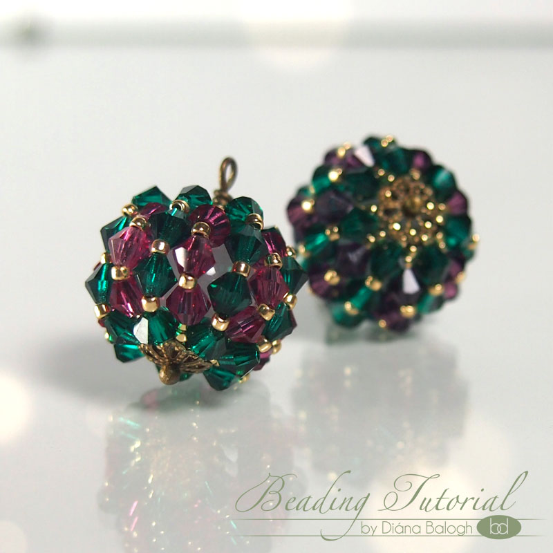 tutorial beaded bead pendant