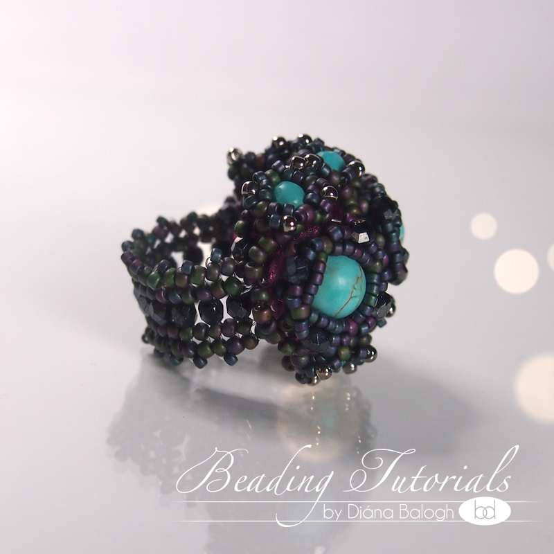 Beading tutorial ring download