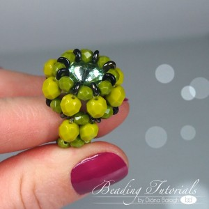 Arcturus ring beading tutorial