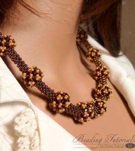 RAW necklace beading tutorial