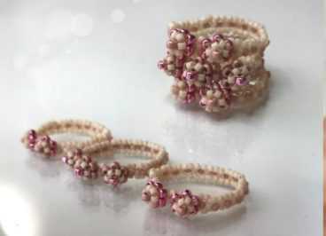 easy beaded ring tutorial