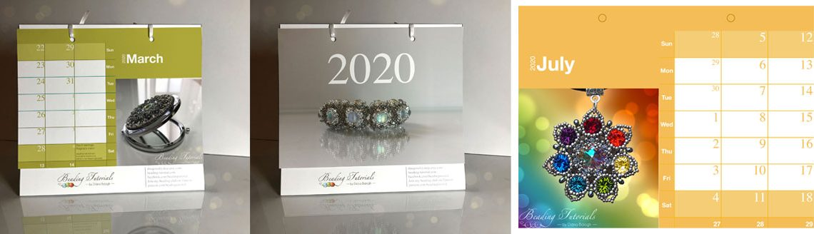 Beading calendar 2020