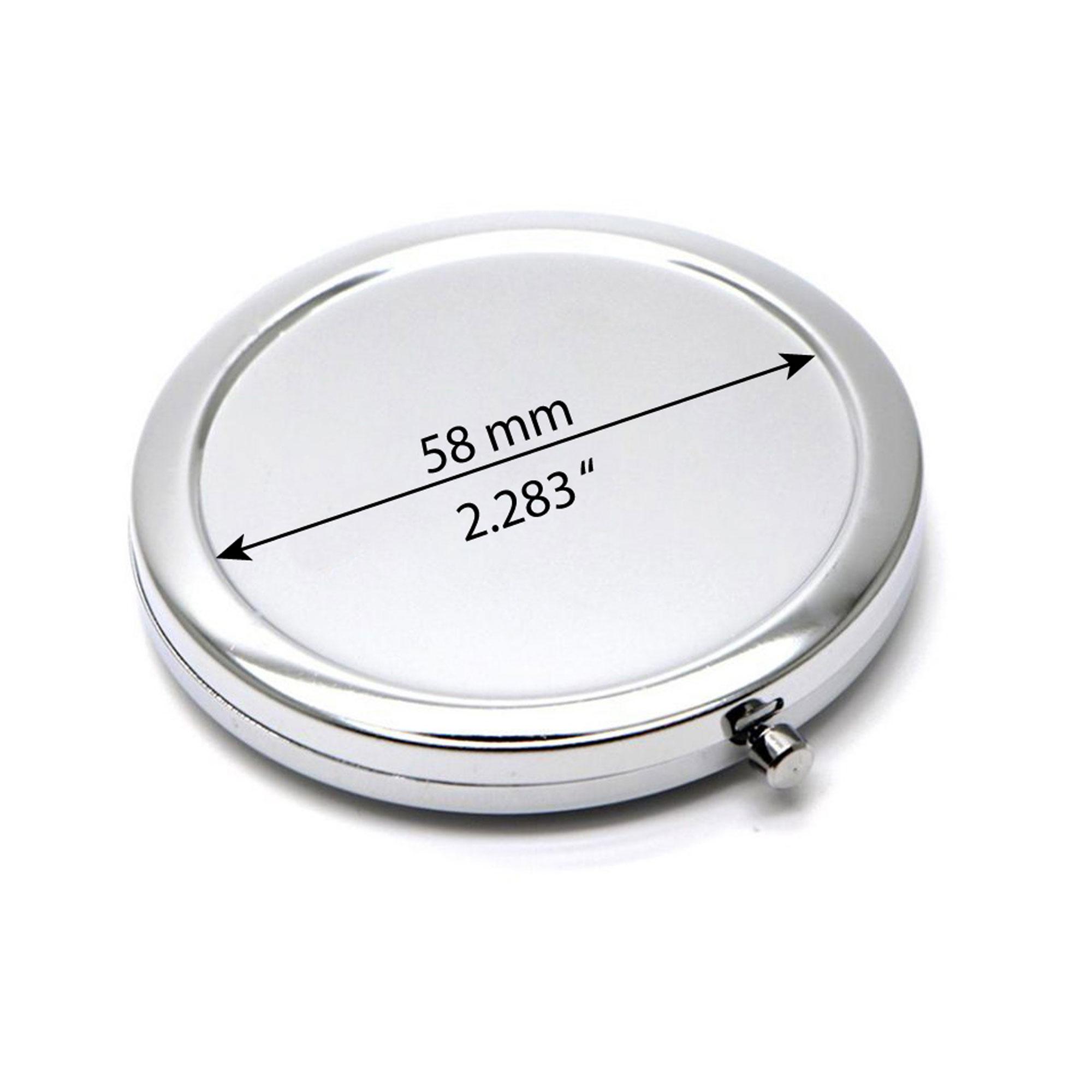 Compact mirror base