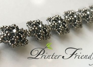 5th dimension bracelet printer friendly beading tutorial