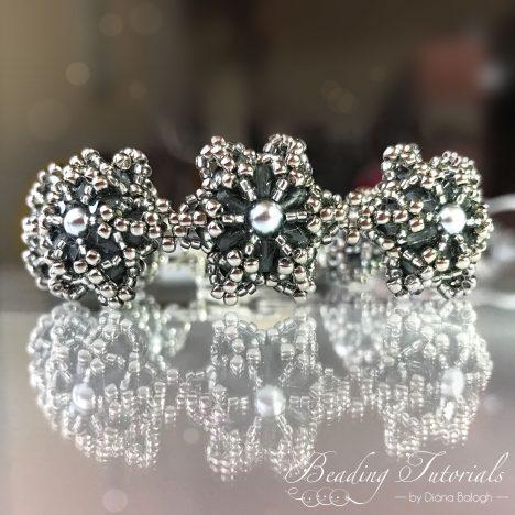 beaded beads bracelet tutorial