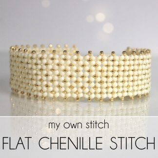 Flat chenille stitch tutorials