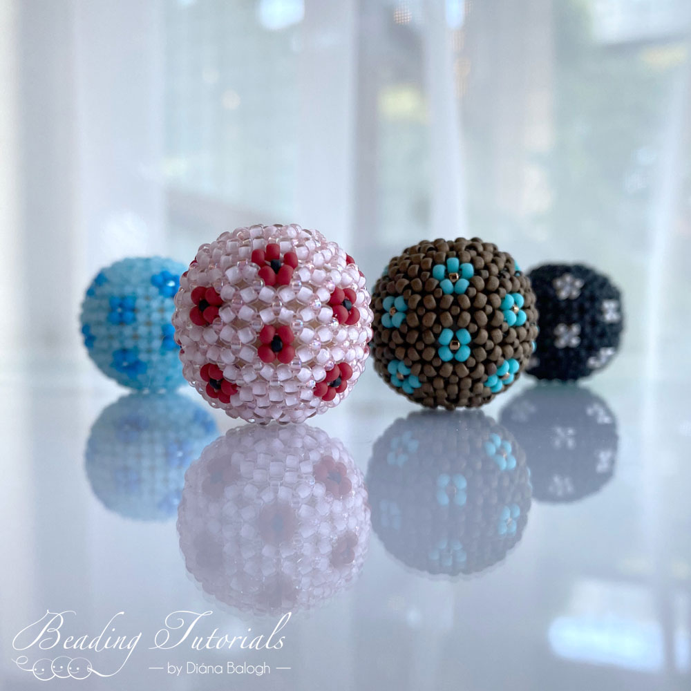 kathleen chenille beaded bead beading tutorial