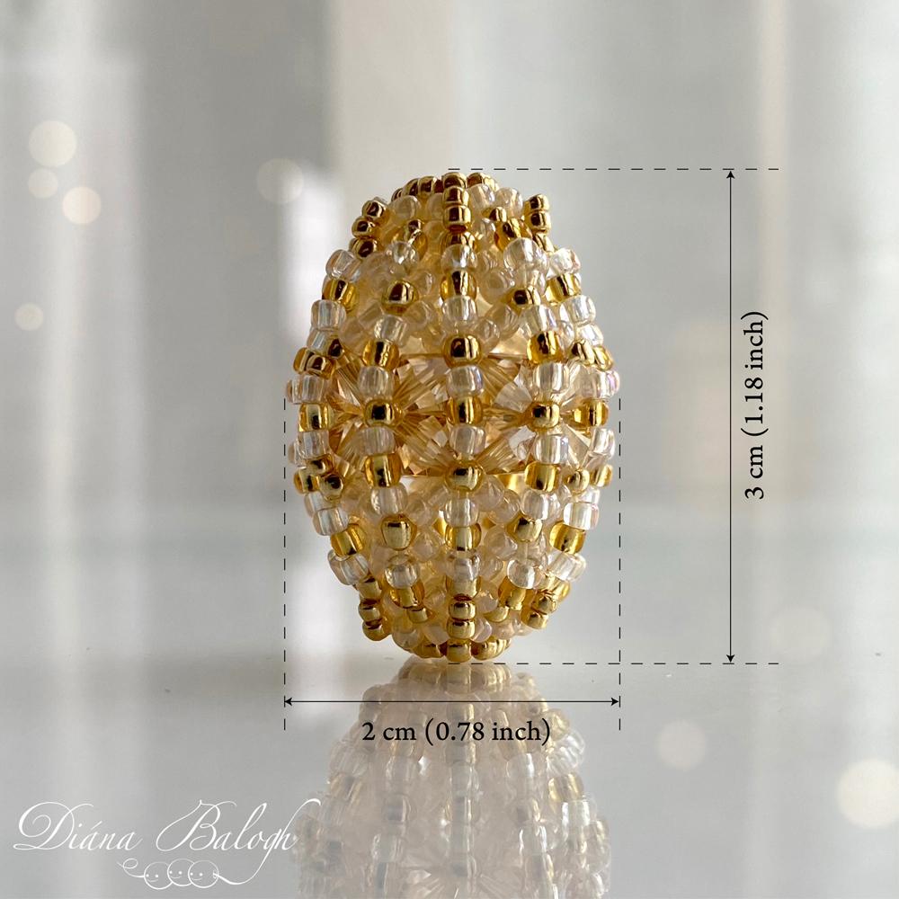 aurelia beaded bead beading tutorial