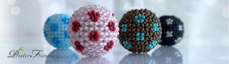 Kathleen chenille beaded bead tutorial